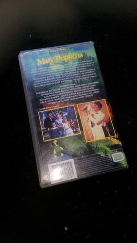 película mary poppins vhs
