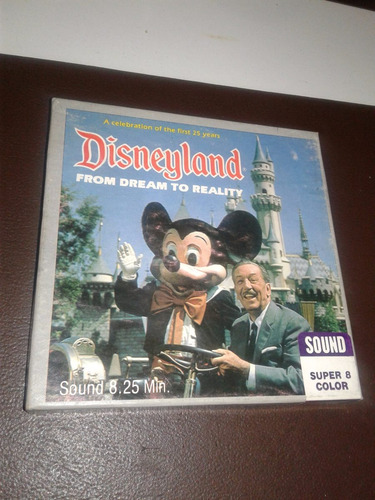 pelicula mikey disneyland super 8mm walt disney