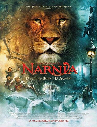 pelicula narnia - el leon, la bruja y el armario