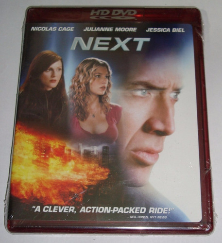 película next hd dvd nicolas cage original nueva wide ntsc