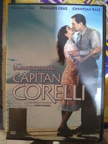 pelicula original en dvd la mandolina del capitan corelli