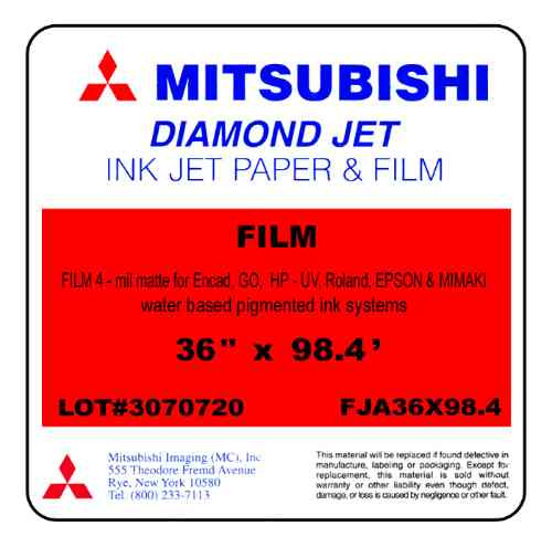 película para caja de luz  mitsubishi 36