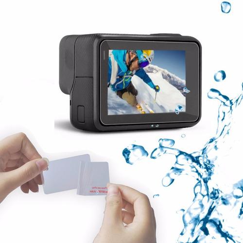 película para gopro hero 5 6 lcd lente proteção gp hero 7