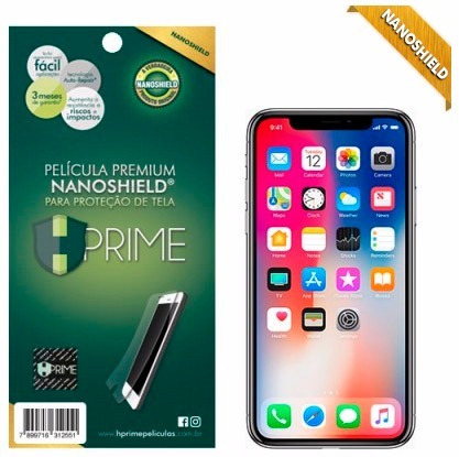 película premium hprime apple iphone x / xs - nanoshield®