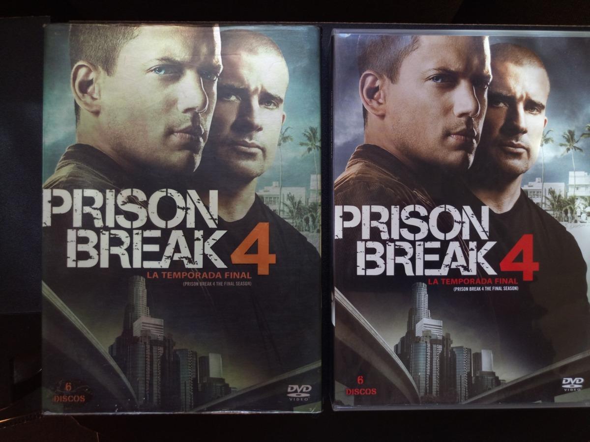 Pelicula Prison Break 4ta. Temporada En Dvd - $ 150.00 en Mercado Libre