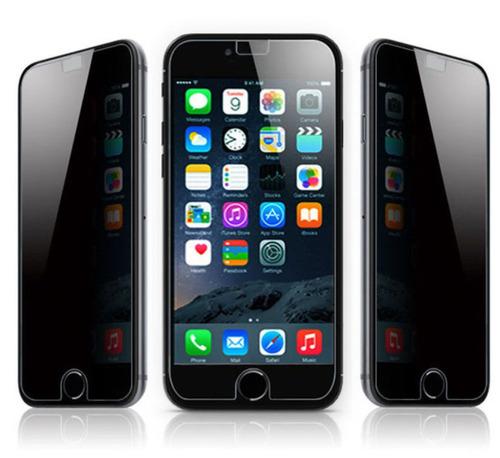 película privacidade (anti-espião) preta  iphone 6, 6s 7, 8
