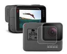película proteção lente e tela lcd para hero 5 6 7 black