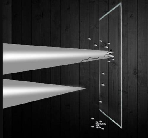 pelicula protectora mica cristal templado lcd camaras 0.4mm