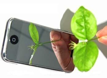 pelicula protetora espelhada qualidade profisional iphone 3g