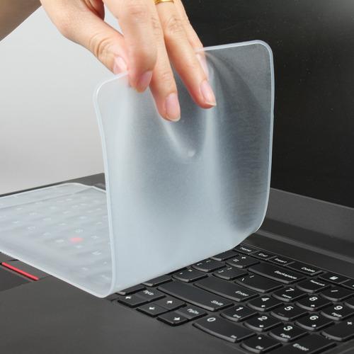 película protetora silicone teclado notebook 13 a 14 carta