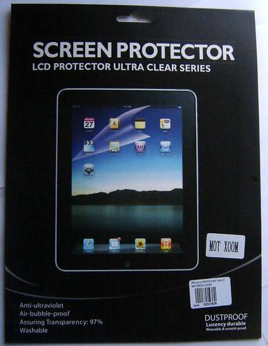 película protetora tablet motorola xoom screen protector