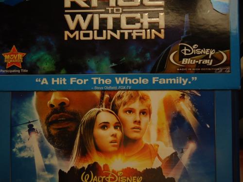 pelicula  race to witch mountain  blu-ray hi-def 3-disc