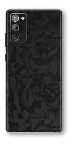 película skin galaxy note 20 (6.7) kingshield 3d camo black