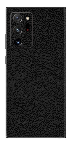 película skin galaxy note 20 ultra kingshield 3d couro-preto