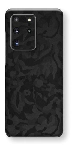 película skin galaxy s20 ultra 6.9 kingshield 3d camo black