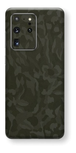 película skin galaxy s20 ultra 6.9 kingshield 3d camo green