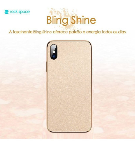 película skin iphone 11 pro (5.8) kingshield 3d bling bling