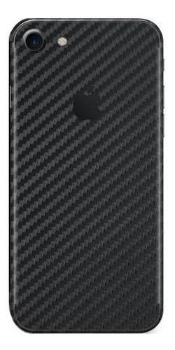 película skin iphone se 2020 4.7 kingshield 3d fibra carbono
