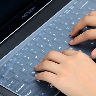 película teclado laptop de silicone a melhor 15.6 universal
