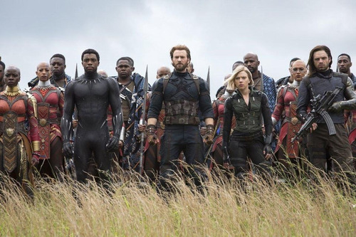 pelicula the avengers infinity war 4k entrega inmediata