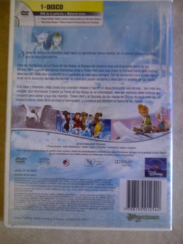 pelicula tinker bell y el secreto de las hadas dvd