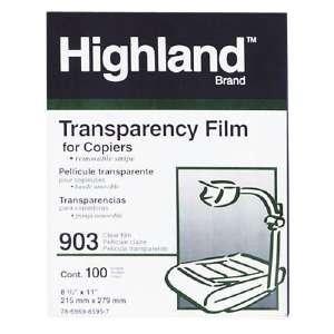 película transparente 3m 903 con banda de detección extraíbl