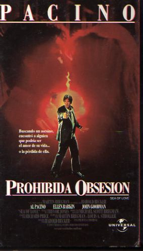 pelicula vhs prohibida obsesion (sea of love) con al pacino