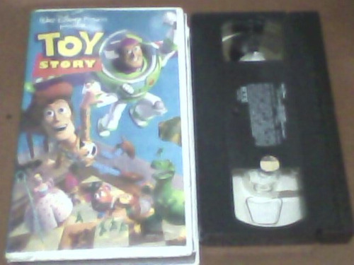 pelicula vhs, toy story
