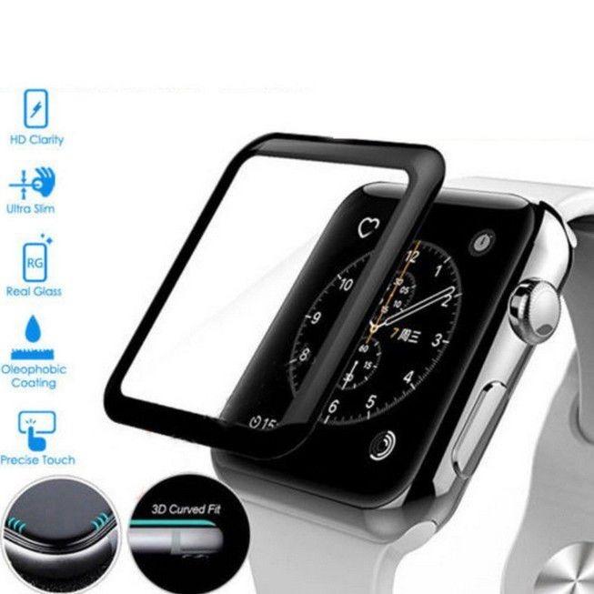 ccac9a5001d Película Vidro 3d Apple Watch Iwatch 38 - 42 Mm Tela Inteira - R  28 ...