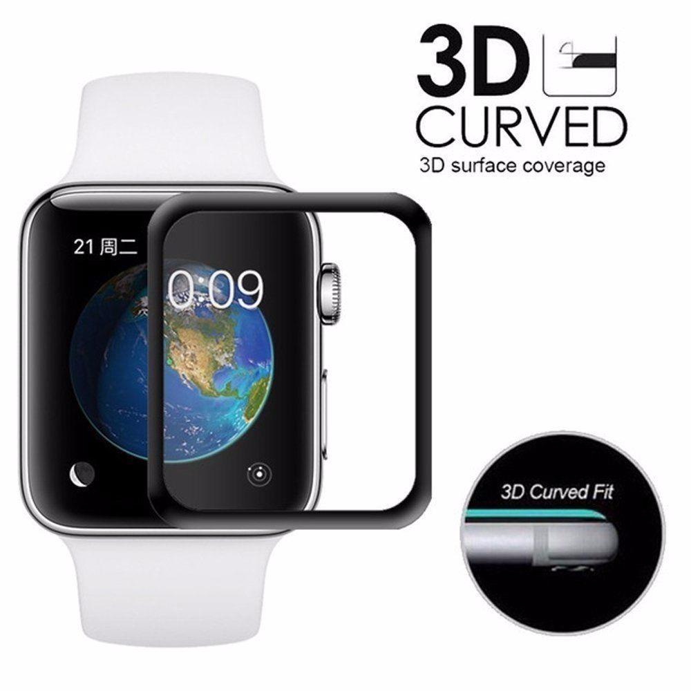 f27b8d993bb Pelicula Vidro 3d Apple Watch Serie 4 40 44mm - R  28