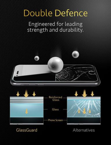 pelicula vidro anker iphone 7 plus 7s plus 8 plus 8s plus br