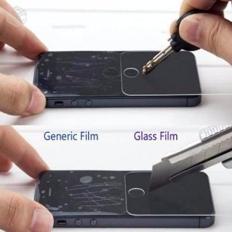 pelicula vidro blindado glass- m iphone 6 4,7'' 6 plus 5.5