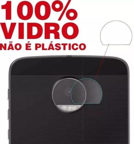 película vidro lente camera traseira moto z3 z2 play  force