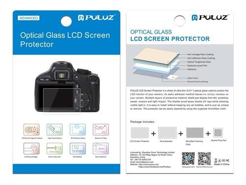 película vidro protetora lcd display canon eos 6d