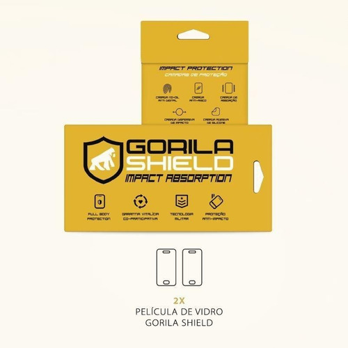 película vidro quantum muv double protection  gorila shield
