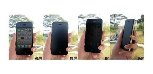 película vidro tela privativa fumê p/ apple iphone 6 + capa!