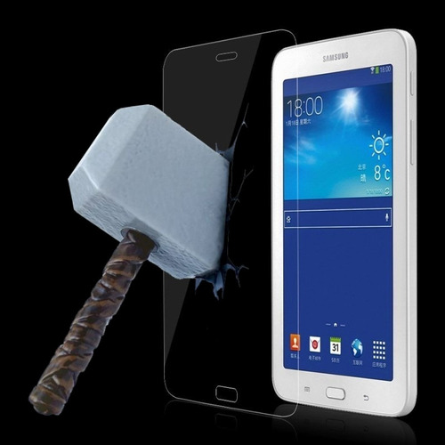pelicula vidro tela tablet samsung galaxy tab e 7 t116 t113