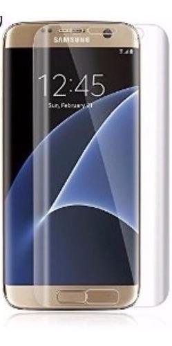 película vidro temperado 100% transparente s7 edge curvada