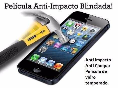 película vidro temperado anti impacto- lg optimus l5 ii e615