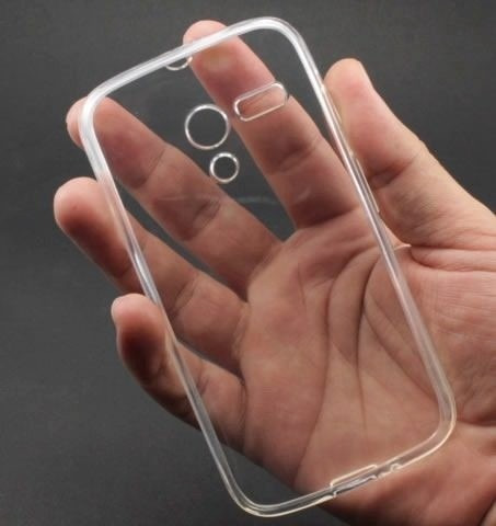 pelicula vidro temperado+capa siliconte moto g1 - frete 6,99