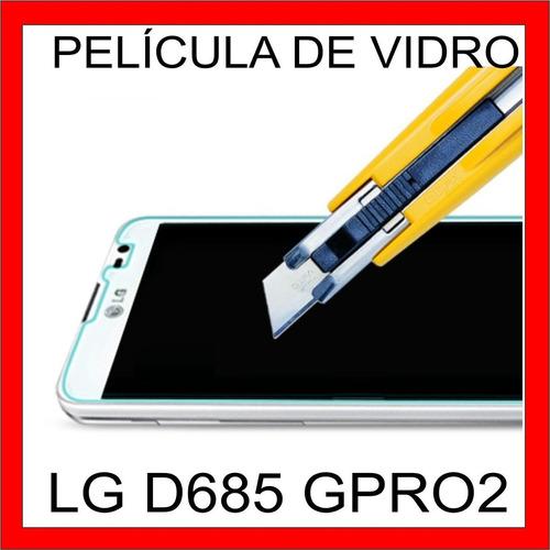 película vidro temperado lg g pro lite dual d685 d686