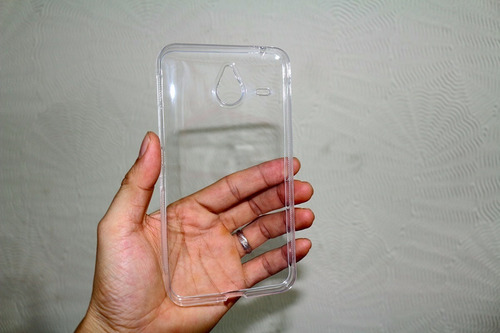 pelicula vidro temperado nokia lumia 640xl + capa tpu