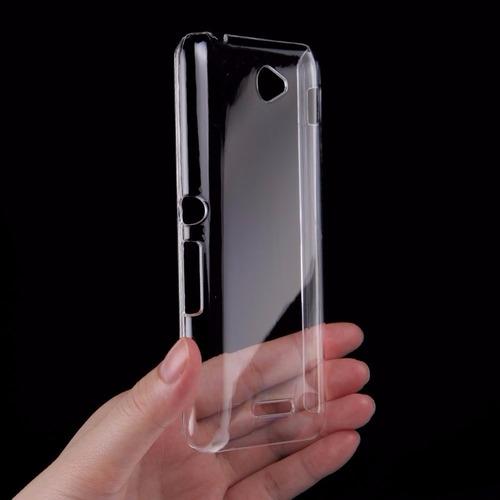 película vidro temperado sony xperia e4 e2104 e2105 + capa