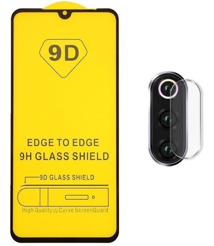 película vidro xiaomi mi9 tela 6.39 full + pelicula camera