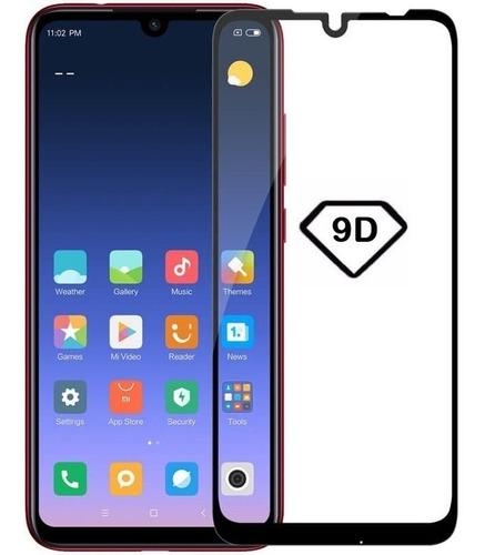 película vidro xiaomi redmi note 7 tela 6.3 full glue 9d