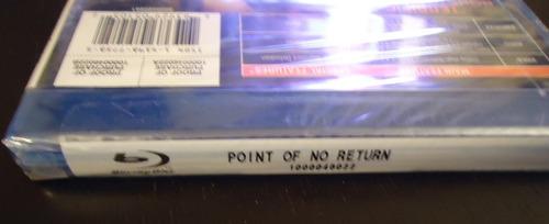 pelicula warner home video point of no return blu-ray