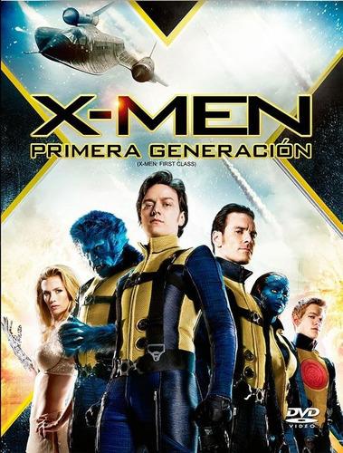 pelicula x-men primera generacion dvd nuevo cerrado orig