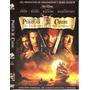 Piratas Del Caribe, Colección De 3 Peliculas En 3 Dvd´s.