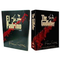 Dvd Original: El Padrino Godfather Coppola Restoration 1,2y3