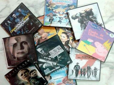 peliculas dvd $750